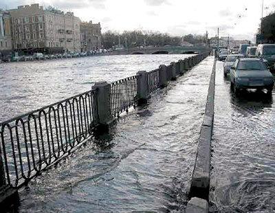 Наводнение в Питере - не редкость