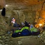А это наш подземный лагерь.